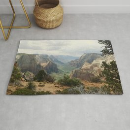 Above Zion Canyon Rug