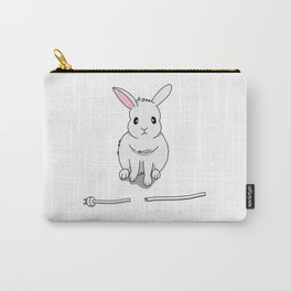 A grumpy bunny Carry-All Pouch