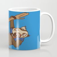 sloth Mugs featuring Sloth by Hoborobo