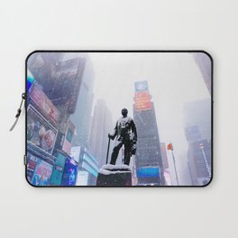 Snowy Times Square, NYC Laptop Sleeve
