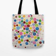Button Box Tote Bag
