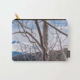 Mountains Through the Trees Carry-All Pouch