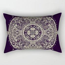 Mandala 1 (Dark) Rectangular Pillow