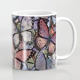 butterflies galore grunge version Coffee Mug