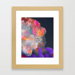 Orage (Colorful clouds in the sky III) Framed Art Print