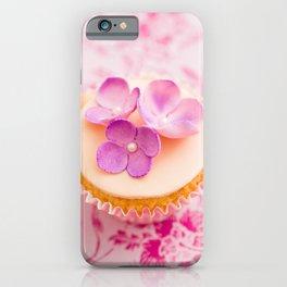 Decorated cupcake iPhone Case
