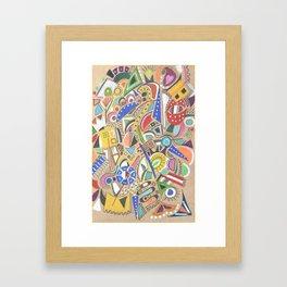 Jubilation Framed Art Print