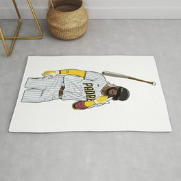 Fernando Tatis Jr. Bat Flip Rug
