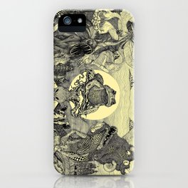 Toad Licking  iPhone Case