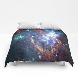 Galaxy Clusters - Infinity Possibilities Comforters