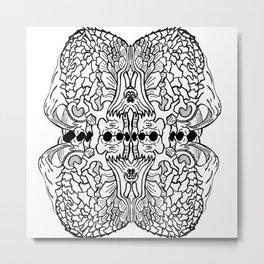 Randomabstract Metal Print