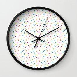 Jelly Bean Colour Wall Clock