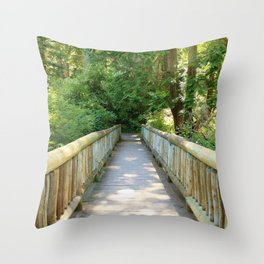 A little Deceptive Throw Pillow