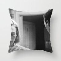 men Throw Pillows featuring MAD MEN by VAGABOND