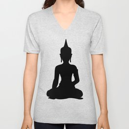 Simple Buddha Unisex V-Neck