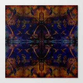 Butterfly dance geometry Canvas Print