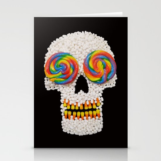 Skullipop Stationery Cards