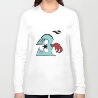 ohm Long Sleeve T-shirts featuring inFamous ohm by iRa.