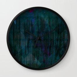 Silent Night Wall Clock