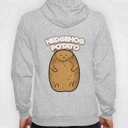 Hedgehog Potato Funny Fat Cute Potato Animals Hoody