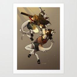 One and the Same Art Print