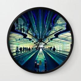 Layover Wall Clock