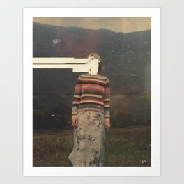 Leona I Art Print