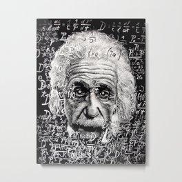 The Mind of a Genius Metal Print