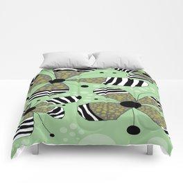FLOWERY SOPHIE  / ORIGINAL DANISH DESIGN bykazandholly Comforters