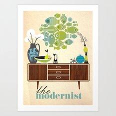 the Modernist Art Print