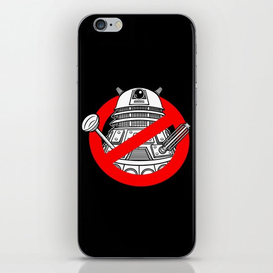 TimeBusters iPhone & iPod Skin