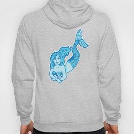 Blue Mermaid Hoody