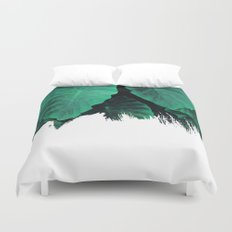 Painting on Jungle Duvet Cover
