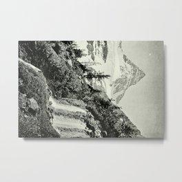 Mount Assiniboine Metal Print