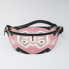 Geoplay : Pink Gold Tribal Fanny Pack