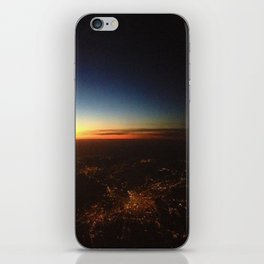 Sunset from a Plane's View iPhone Skin