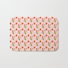 Strawberry Plant Bath Mat