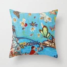 ....you and I.... Throw Pillow