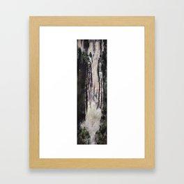 Zip Framed Art Print