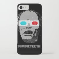 gore iPhone & iPod Cases featuring Bubs 3D Zombie Gore-athon by Iamzombieteeth Clothing