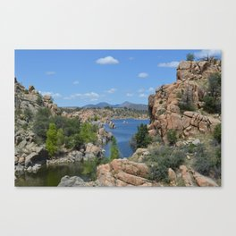 Arizona Landscape I Canvas Print