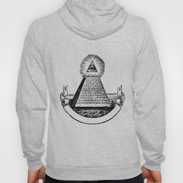 the Eye of Providence from the Great seal of America  All seeing Eye us dollar money cash Pyramid Hoody