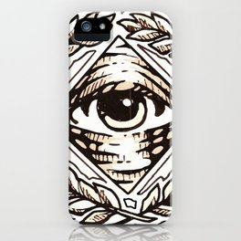 Clear Vision All Seeing Eye iPhone Case