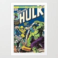Canadian Super Hero! Art Print