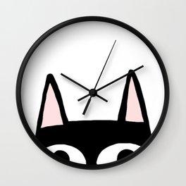 Peking Cat Wall Clock