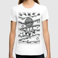 dream catcher T-shirts featuring Dream catcher by DeMoose_Art