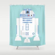 #92 R2D2 Shower Curtain