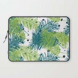 Ferns and Dots Laptop Sleeve
