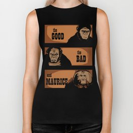 The good, the bad, and Maurice Biker Tank