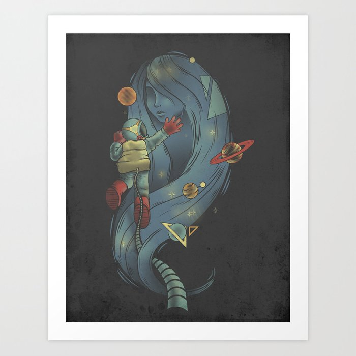 Star Crossed Lovers Art Print